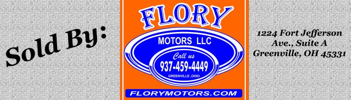 For Sale By Flory Motors