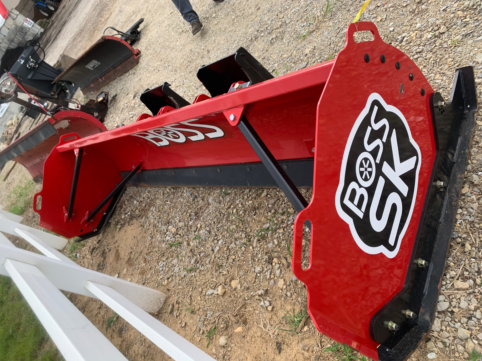 2020 Boss Demo SK10 Box Plow #5 (1)